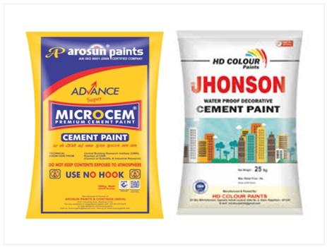 Cement Paint Types