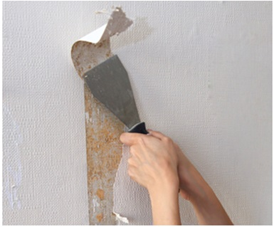 Existing Wall Paint Removal