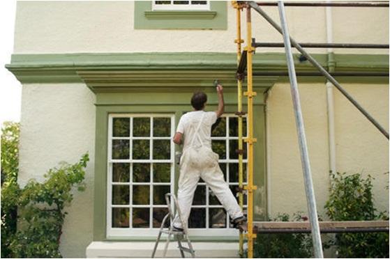 Exterior House Paint Work