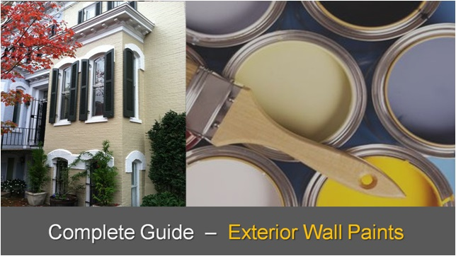 Exterior Wall Paint Complete Guide , Exterior Wall Paint