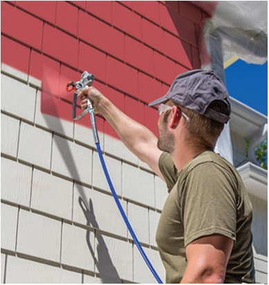 Exterior Wall Paint Work Process Step By Step