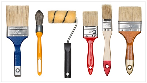 General Purpose Wall Paint Brushes