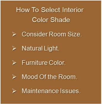 How To Interior Wall Color