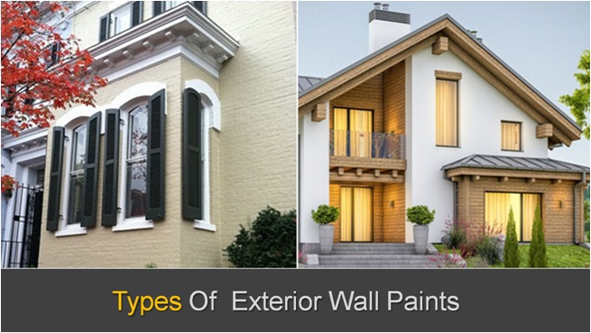 How To Select Type Of Exterior Wall Paint , Exterior Wall Paint Types