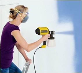 Interior Paint By Spray Gun