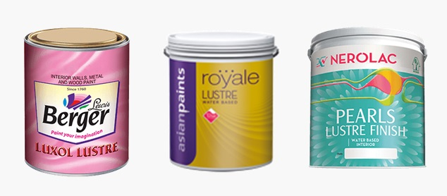 Top Luster Paints Brands , Types Of Paints