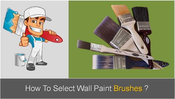 Types Of Wall Paint Brushes , Wall Paint Brush Types