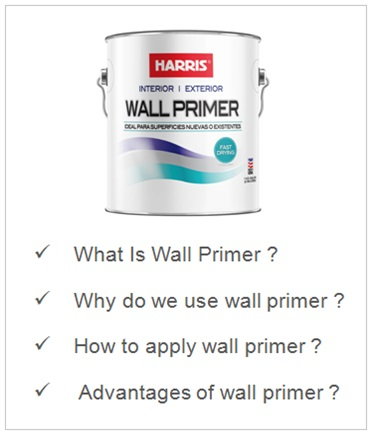 What Is Wall Primer , How To Wall Primer , How To Paint Interior Wall