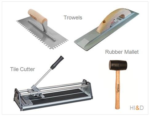 Basic Tools For Tiles Installation DIY