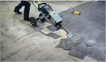Ceramic Tiles Installation On Concrete Floor
