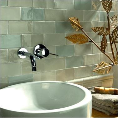 Glazed Wall Tiles In Bathroom