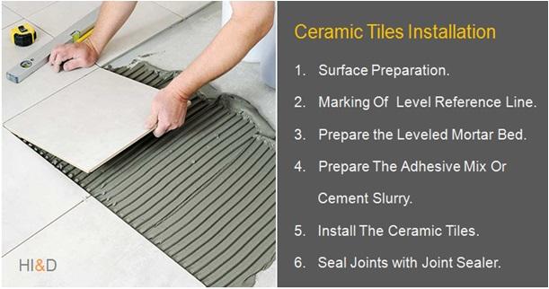 How To Install Ceramic Tiles On Concrete Floor