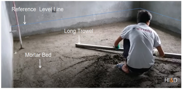 How To Install Ceramic Tiles With Cement