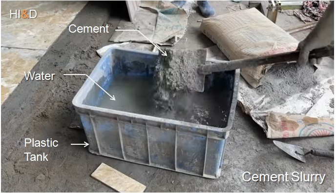 How To Make Cement Slurry For Tiles Installation