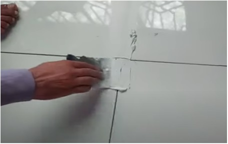How To Seal The Tile Joints With Tile Grout