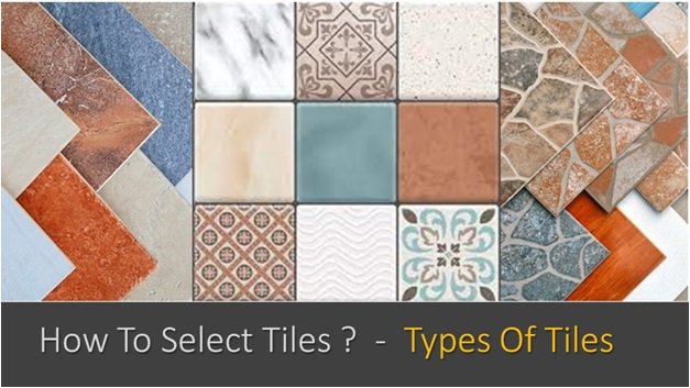 How To Select Tiles , Types Of Tiles