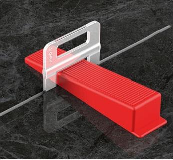 Tile Installation Level System Use