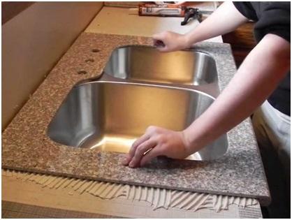 Countertop Installation Kitchen Remodel DIY