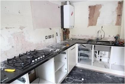 Kitchen Demolition For Kitchen Makeover