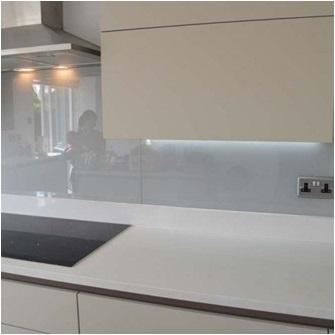 Kitchen Glass Splashback Installation