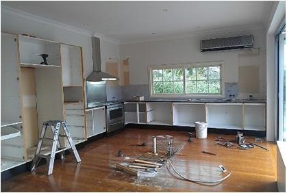 Kitchen Removal For Kitchen Renovation