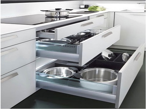 Modular Kitchen Trolley Designs for DIY Remodel Project