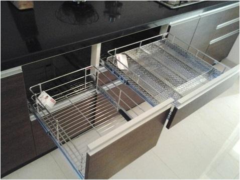 Modular Kitchen Trolley Designs