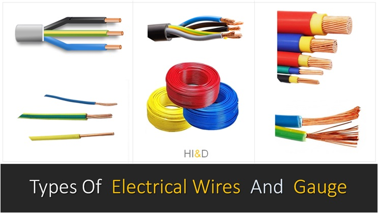 Types Of Electrical Wires And Gauge