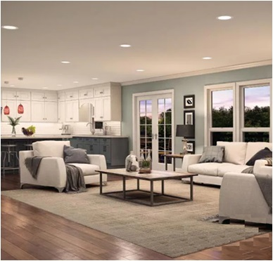 Ambient Lighting With Recessed Lights