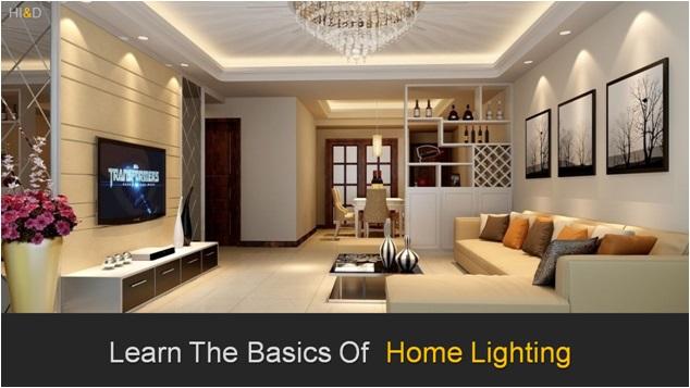 Basics Of Home Lighting , House Lighting