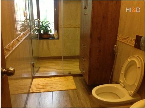 Bathroom Commode Installation