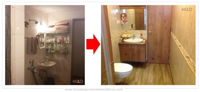 Bathroom Remodel Transformation