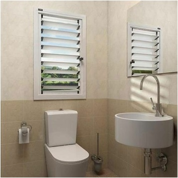 Bathroom WPC Window