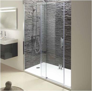 Shower Area Enclosure Installation